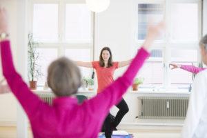 Amersfoort: Iris den Hollander geeft yogales