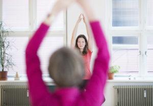 Senioren yoga Amersfoort